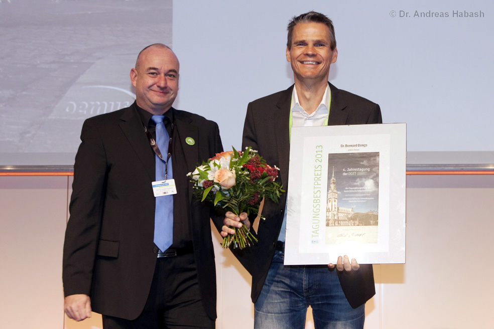 Preisverleihung Tagungsbestpreis 2014 Dr. Bengs Endodontologie Berlin