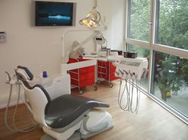 Wurzelbehandlung - Behandlungsraum Endodontie Berlin-Mitte